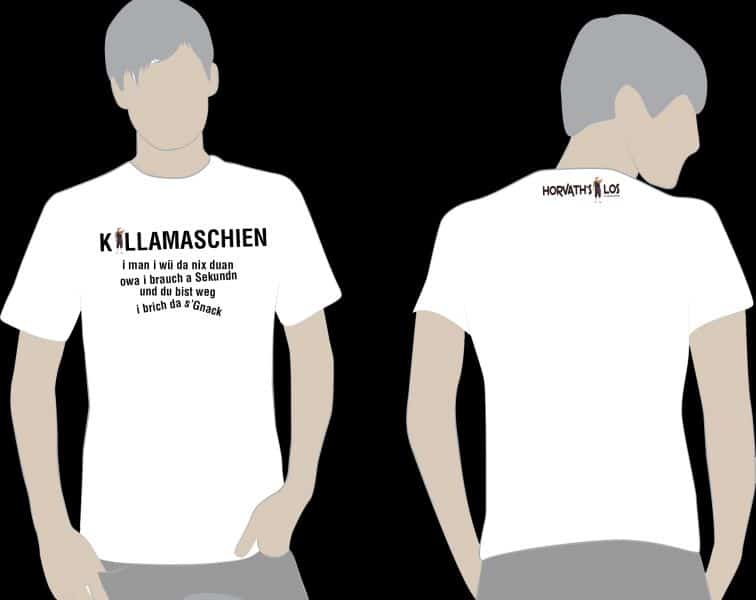 T-SHIRT – KILLAMASCHIEN