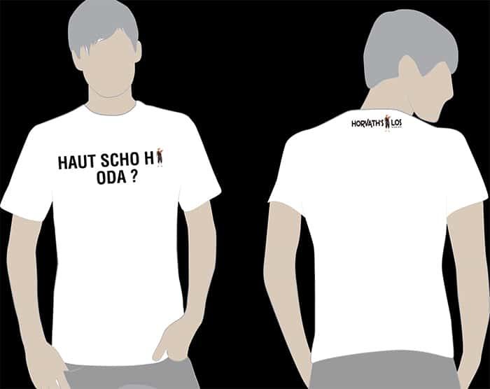 T-SHIRT – HAUT SCHO HI ODA?